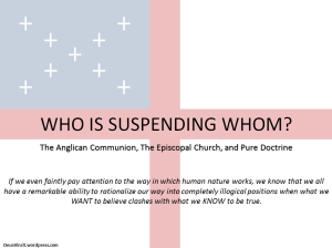 Who Is Suspending Whom
